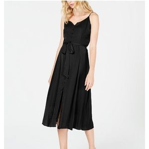 Vince Camuto Rumple Button-Front Dress Brand New